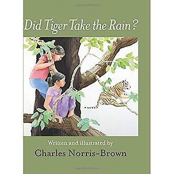Did Tiger Take the Rain?