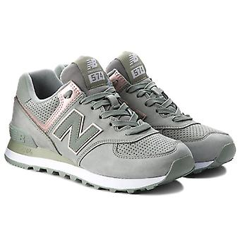 New balance WL574 stylish ladies Sneaker Grün