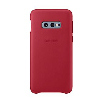 Samsung leather cover for Samsung Galaxy S10e G970F EF VG970L red bag case protective cover