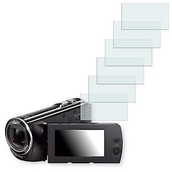 Sony HDR-CX240E screen protector - Golebo crystal clear protection film