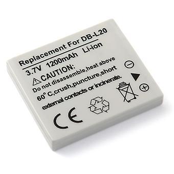 Battery for Sanyo DB-L20 DBL20 Xacti dmx-ca9 dmx-hd2000 dmx-ca8 dmx-cg9 sanyo xacti e1 dmx-ca65