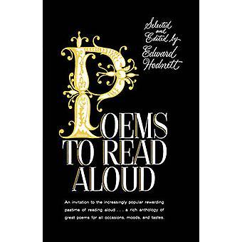Poems to Read Aloud by Hodnett & Edward