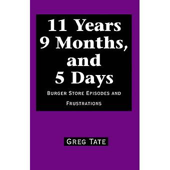 11 Years 9 Months and 5 Days Burger Store Episodes and Frustrations by Tate & Greg