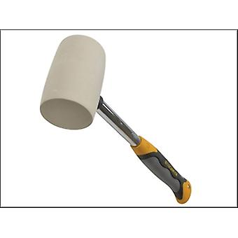 WHITE RUBBER MALLET NON MARKING 454G (16OZ)