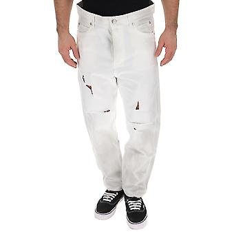 Balmain White Denim Jeans