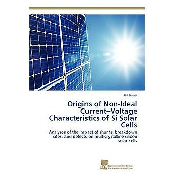 Origins of NonIdeal CurrentVoltage Characteristics of Si Solar Cells by Bauer Jan