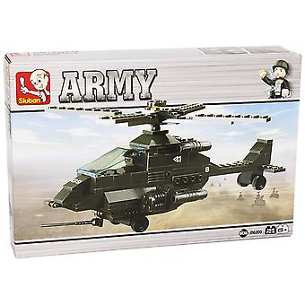 Kombat Military Bricks Attack Helicopter