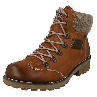 Rieker Damen gestrickt Manschette Ankle Boots Z0444