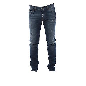Dolce E Gabbana Blue Denim Jeans
