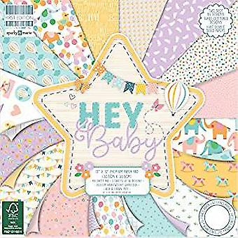 First Edition Hey Baby 12x12 Inch Paper Pad (FEPAD170)