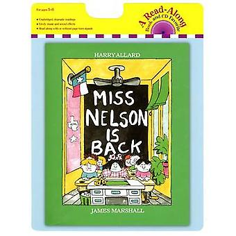 Miss Nelson Is Back Book and CD by Harry G Allard - James Marshall -