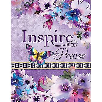 Inspire Praise Bible NLT - Feminine Deluxe - 9781496429841 Book