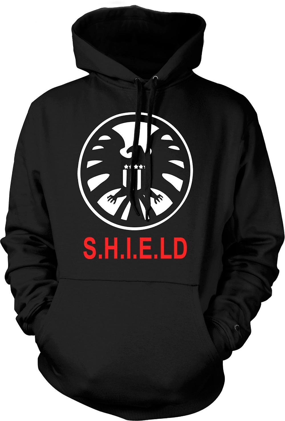 Mens Hoodie - Schild-Avengers-Logo