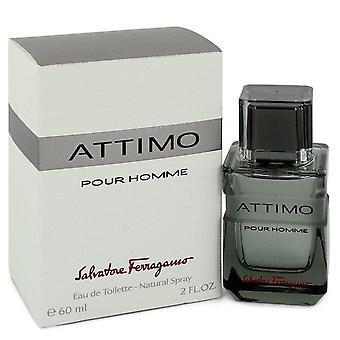 Attimo Eau De Toilette Spray By Salvatore Ferragamo 60 ml