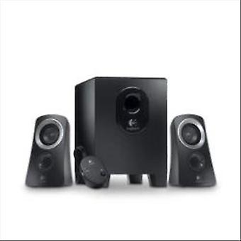 Logitech z313 audio speakers 2.1 50 w black