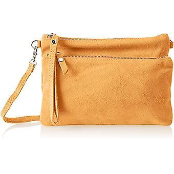 Chicca Bags 1512 Brown Women's shoulder bag (Tan) 24x17x4cm (W x H x L)
