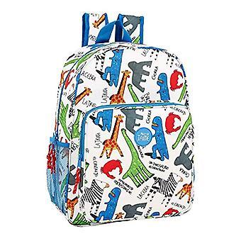 Safta Algo De Jaime Casual Backpack - 42 cm - White (Blanco)