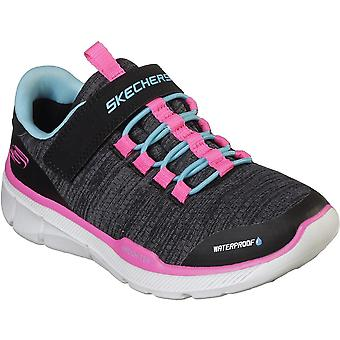 Skechers Girls Equalizer 3.0-Mbrace Durable Trainers Shoes