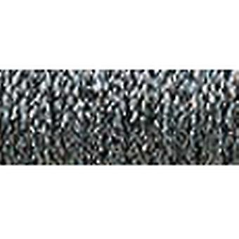 Kreinik Fine Metallic Braid #8 10 Meters 11 Yards Hi Lustre Steel Grey F 010Hl