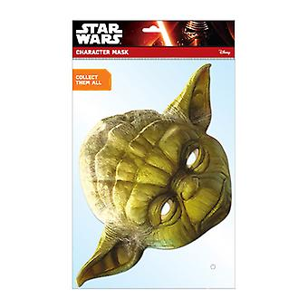 Yoda Official Star Wars Card Party Face Mask