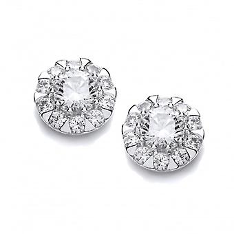 Cavendish French Cubic Zirconia Comet Earrings