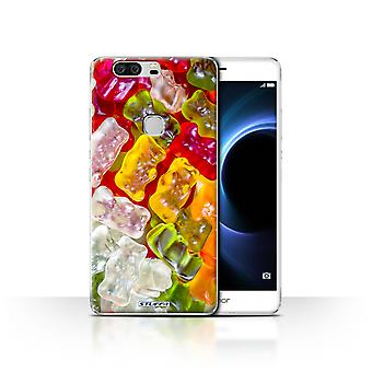 STUFF4 Custodia/Cover per Huawei Honor V8/Gummy Bears/pasticceria