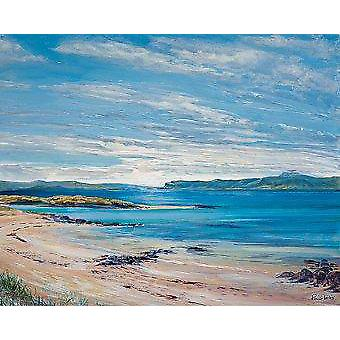 Ronnie Leckie afdrukken - North Sands, Iona