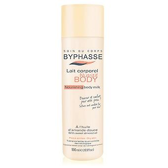 Byphasse Nourishing Body Milk Almond Oil Dry Skin (Bottle)
