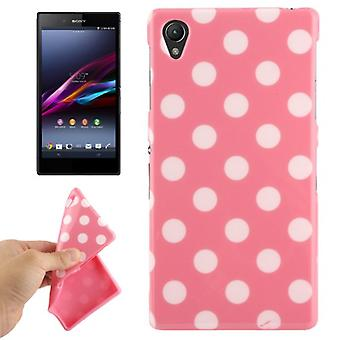 Protective case for mobile phone Sony Xperia Z1 pink