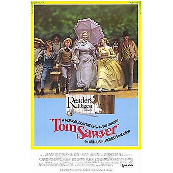 Affiche de film de Tom Sawyer (11 x 17)