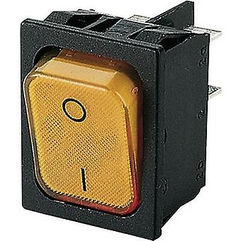 Toggle switch 250 Vac 20 A 2 x Off/On Marquardt 1835.3114 IP40 latch 1 pc(s)