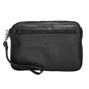 Dr Amsterdam Toronto Black medium sized men's bag