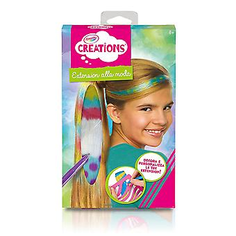 Crayola Creations Colour 'n' Wear Hair Extensions