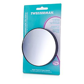 Tweezerman TweezerMate - 12X Magnification Personal Mirror -