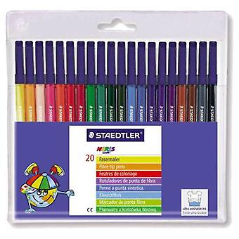 Staedtler Plastic Case 20 Pens Caja 5 (Toys , School Zone , Drawing And Color)
