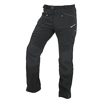 Montane Mens Super Terra Pants Regular Leg Phantom Black (Small)