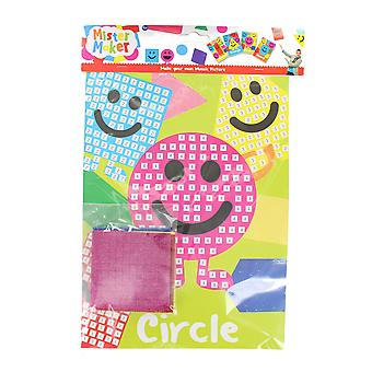 Children's Arts & Crafts Mister Maker Make Your Own Mosaic Picture - Circle