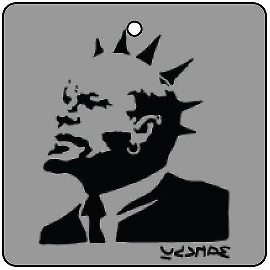 Banksy Lenin With Mohican Car Air Freshener