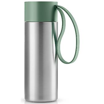 Eva solo to go Cup Thermostone mug granite green / green 0,35 litre