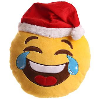 Puckator Christmas Emotive LOL Plush Cushion, 27cm