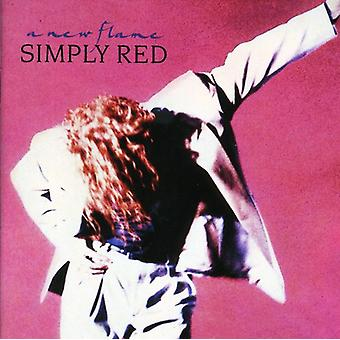 Simply Red - nye flamme [CD] USA importerer