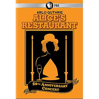 Arlo Guthrie - Alice's Restaurant 50th Anniversary Concert [DVD] USA import