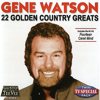 22 gyldne land Greats - 22 gyldne land Greats [CD] USA importerer