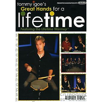 Tommy Igoe - store hænder for en levetid [DVD] USA import