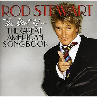 Rod Stewart - bedste af den store amerikanske sangbog [CD] USA import