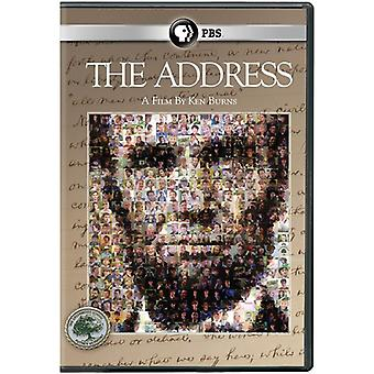 Ken Burns: Address [DVD] USA import