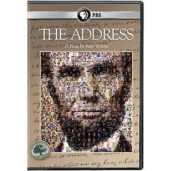 Ken Burns: Adresse [DVD] USA importieren