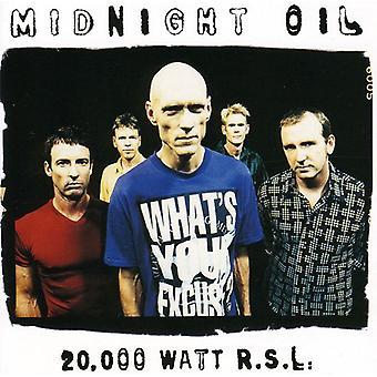 Midnight Oil - 20 000 Watt Rsl (Best av midnatt O [DVD] USA import