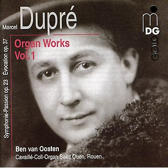 M. Dupre - Marcel Dupr: Orgelværker, Vol. 1 [CD] USA import