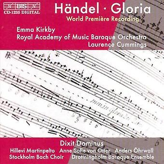 G.F. Händel - H Ndel: Gloria; Dixit Dominus [CD] USA import